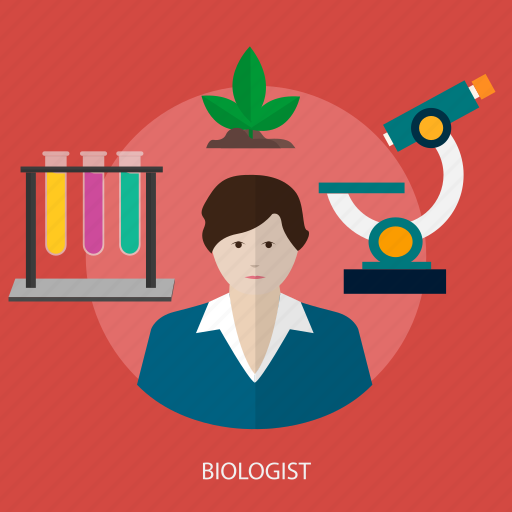 biologist, chemistry, experiment, laboratory, research, science icon