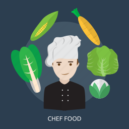 chef, chef food, cooking, cuisine, food, menu, restaurant icon