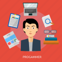 development, internet, programmer, programming, technology, web icon