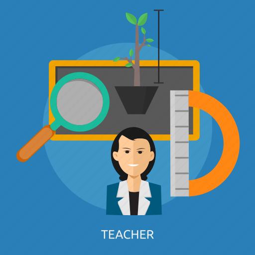 classroom, education, lesson, school, teacher, teaching icon