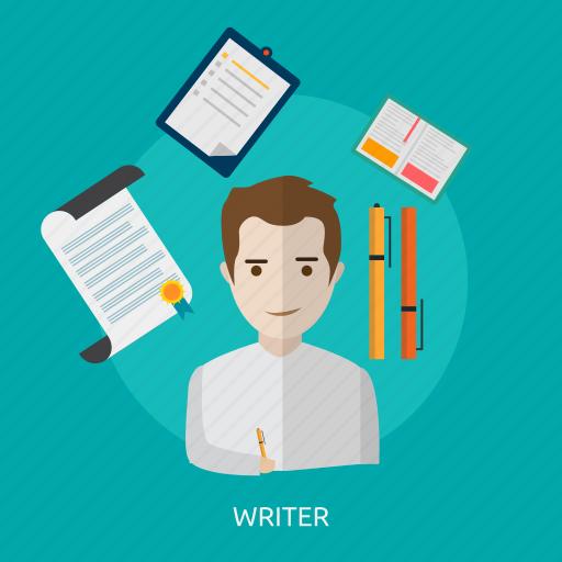 creative, journalist, paper, text, write icon