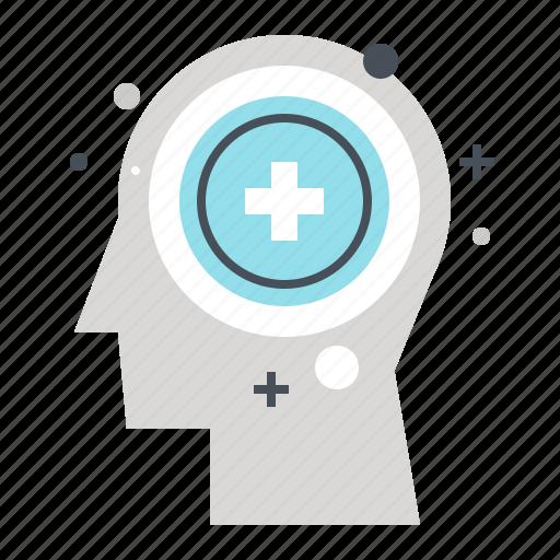 brain, head, health, human, medicine, mind, psychology icon