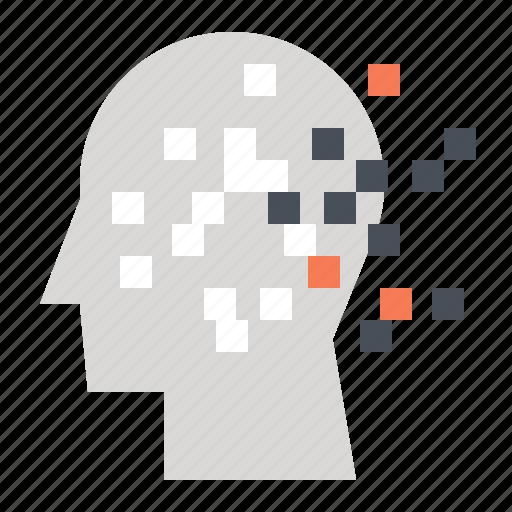 autism, disorder, head, human, mental, mind, thinking icon