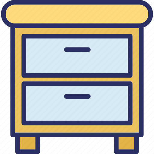 cabinet, cupboard, cupboard drawers, drawers icon