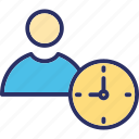 clock, deadline, punctual, time icon