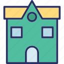 architecture, bank, bank building, building icon