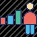 advancement, career, job promotion, progress icon