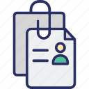 cv, cv attachment, job application, job profile icon