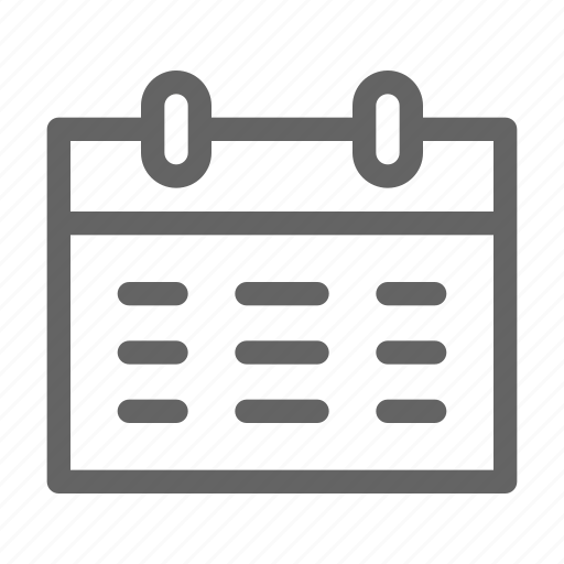 appointment, employment, plan, schedule icon