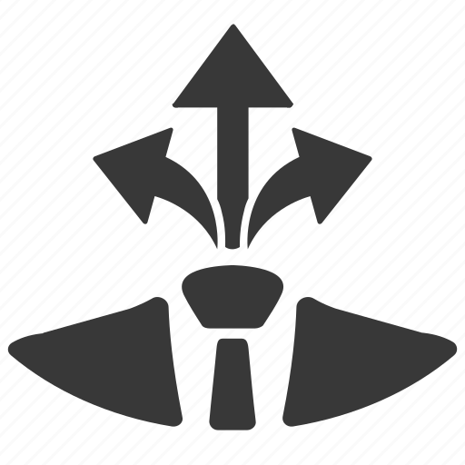 decision, direction, strategy icon