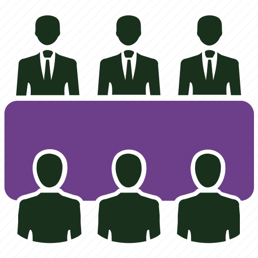 business meeting, community, conference, group, meeting, presentation, team icon