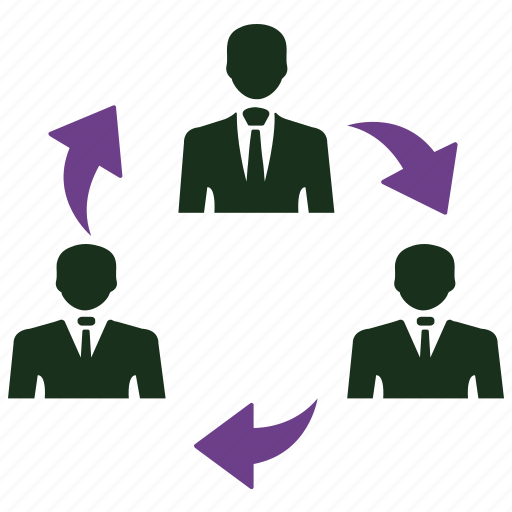 communication, connection, network, share, teamwork icon