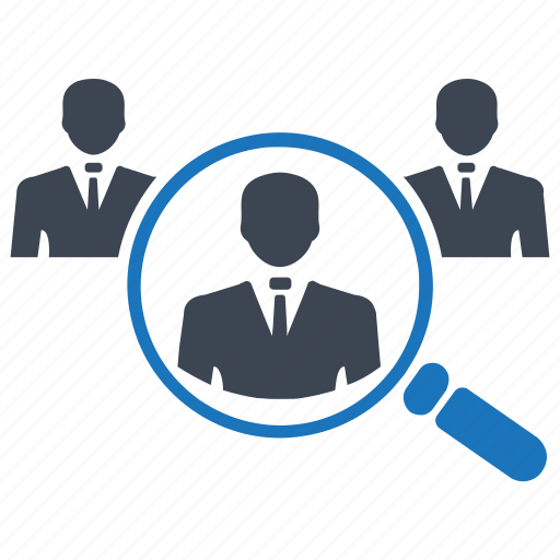 find, find customer, group, job search, magnifier, search icon