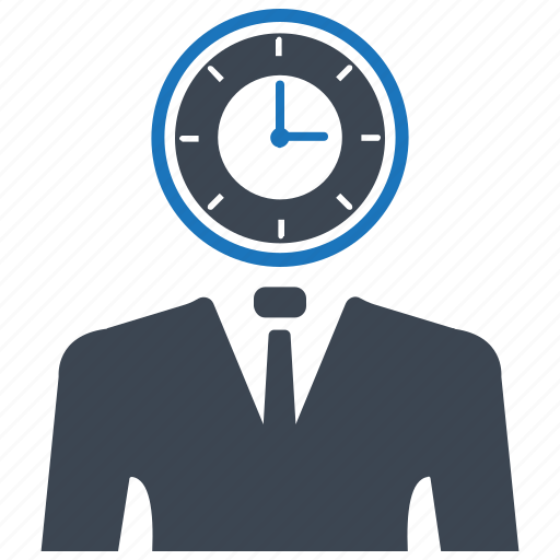 time management, time schedule, working icon