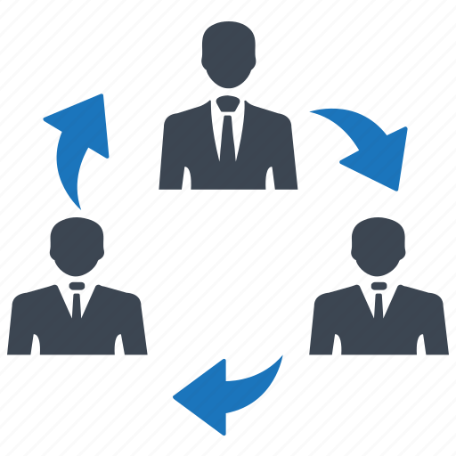 communication, connection, share, teamwork icon