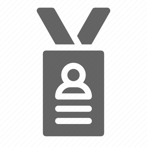 Badge, card, id, lanyard icon - Download on Iconfinder