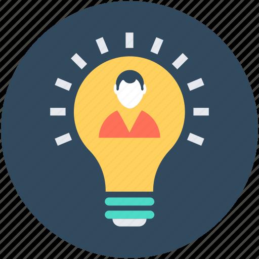 bulb, creativity, idea, innovation, light bulb icon