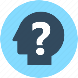 ask, faq, query, question mark, questionnaire icon