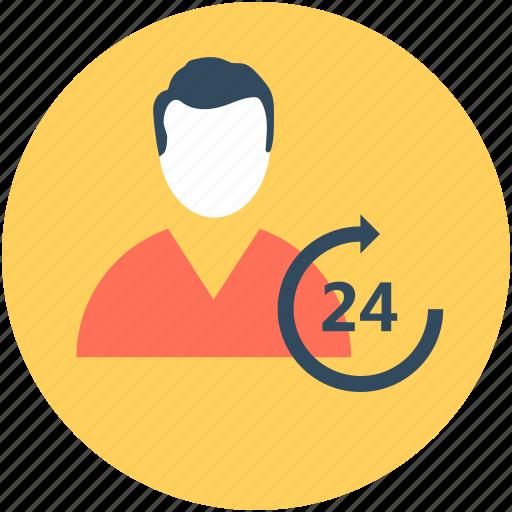 call center, customer representative, full service, help center, help line icon