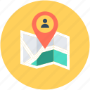 location pin, map location, map pin, user location, user placeholder icon