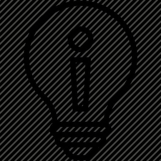 bulb, creative mind, creativity, electric bulb, intelligence icon