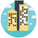 building, head office, headquarter, house, office icon