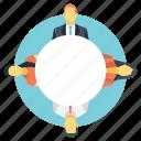 business culture, organizational climate, organizational value, team culture, team togetherness icon