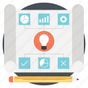 business development, business goals, business management, business plan, business strategy icon