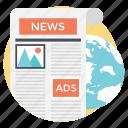 digital magazine, digital news journals, digital publishing, electronic publishing, internet publishing icon
