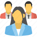 business crew, business group, business organization, business team, company icon