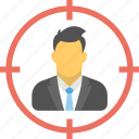 business goal, business target, financial goal, sales target, target market