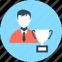 achievement, champion, reward, trophy, winner