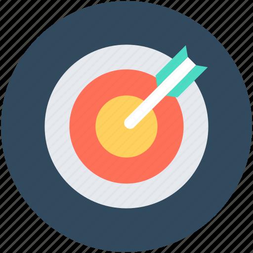 aim, crosshair, goal, objective, target icon