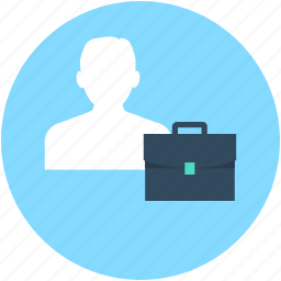 bag, briefcase, business bag, businessman, portfolio icon