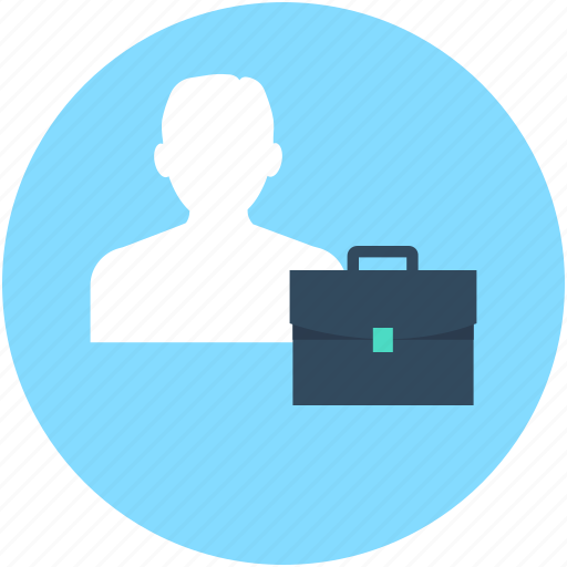 bag, briefcase, business bag, businessman, portfolio icon