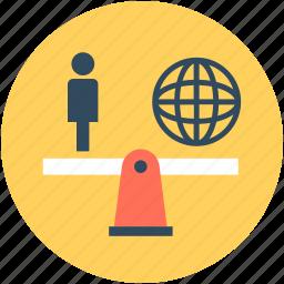 usefulness, utility, value, worldwide value, worth icon