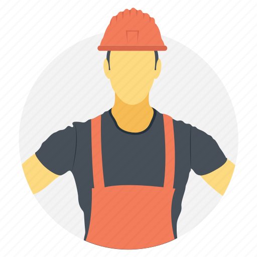 factory worker, foreman, labor, plumber, worker icon