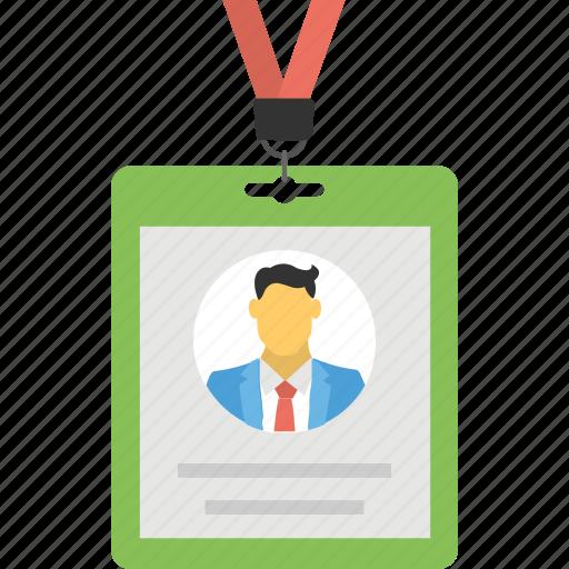 business id, employee card, id card, identification, identity card icon