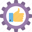 business feedback, feedback management system, performance management, performance review, process performance icon