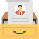 human resources, job applications, job hiring, recruitment, selection procedure icon