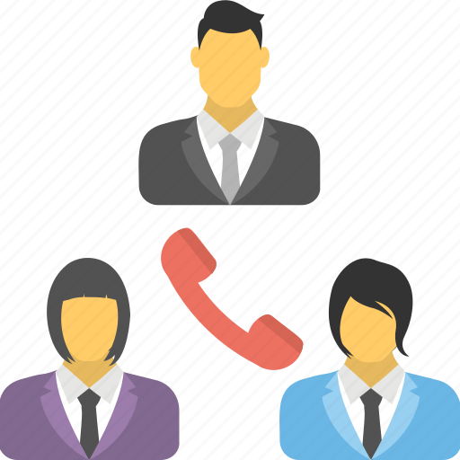 audio call, audio teleconference, business call, conference call, telecommunication icon