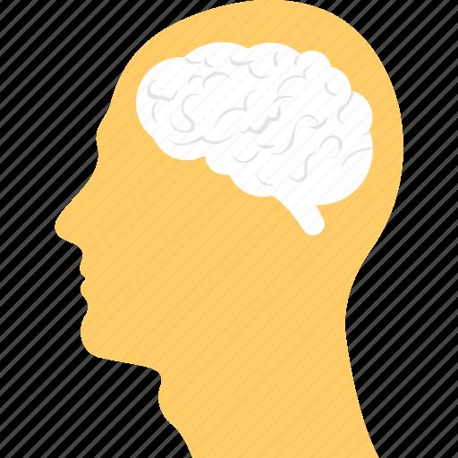 Bright Idea Creative Mind Human Brain Ideology Intelligent Icon