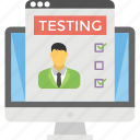 employee performance, feedback, feedback form, professional development, training effectiveness icon