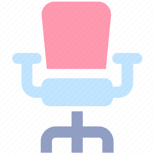 chair, furniture, interior, management, office, seat icon