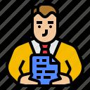 advice, avatar, business, consultant, management