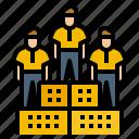 avatar, cooperation, organization, team, work icon