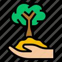 consulting, eco, environmental, green, tree icon