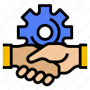 business, management, team, up, work icon