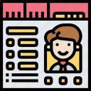 profile, database, employee, information, resume
