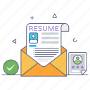 cv, resume, profile, curriculum vitae, job letter